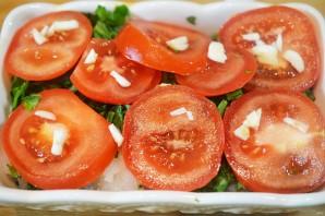Рыба в духовке со шпинатом и помидорами - фото шаг 7