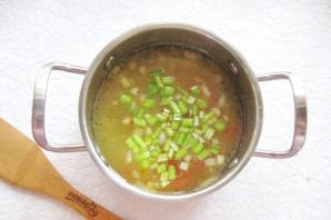 Куриный суп с сельдереем и рисом - фото шаг 6