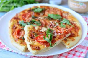 Пицца с прошутто и рукколой - фото шаг 12