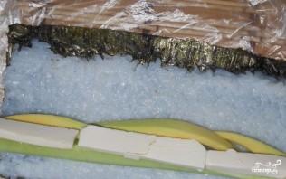 Вегетарианские суши и роллы - фото шаг 4
