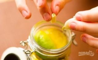 Маринованные соленые лимоны - фото шаг 3