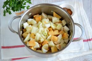 Яблочный соус к мясу - фото шаг 5