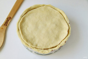 Пирог с рисом, изюмом и курагой - фото шаг 10
