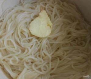 Спагетти в ярком овощном соусе - фото шаг 5