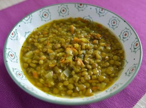 Суп из чечевицы вегетарианский - фото шаг 6