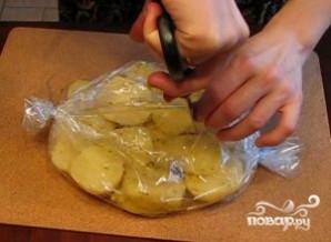 Картофель в рукаве для запекания - фото шаг 6