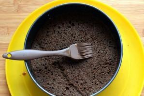 Маковый торт с йогуртовым муссом и белым шоколадом - фото шаг 6