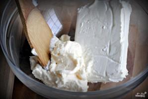 Салат с сыром и оливками - фото шаг 4