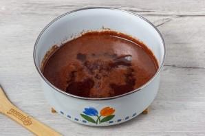 Сладкая колбаса из печенья - фото шаг 4