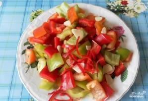 Овощное рагу со свининой и кабачками - фото шаг 6