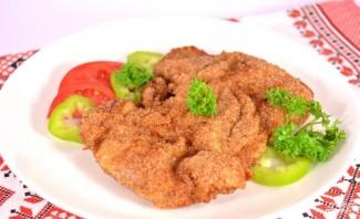 Жареное куриное филе с корочкой - фото шаг 6