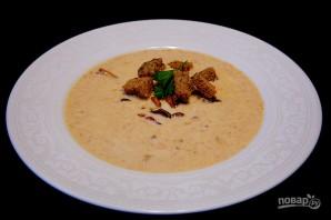 Суп-пюре из лисичек с беконом - фото шаг 20