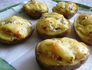 Картошка с фаршем в духовке - фото шаг 9