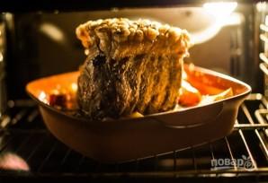 Свиная корейка в духовке - фото шаг 4