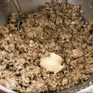 Блинчики с мясом и грибами - фото шаг 6