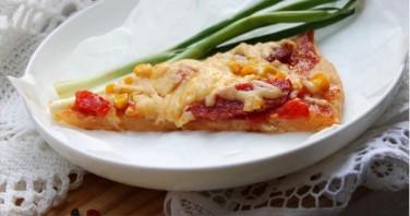 Начинка с колбасой для пиццы - фото шаг 4