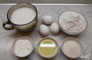 Блины на кокосовом молоке - фото шаг 1