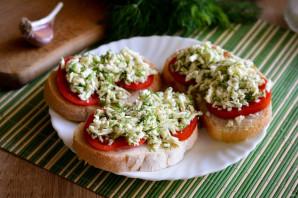 Бутерброд с брынзой - фото шаг 6