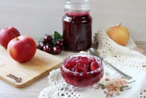 Вишневое варенье с яблоками - фото шаг 9
