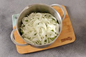 Салат из зеленых помидоров без стерилизации на зиму - фото шаг 3