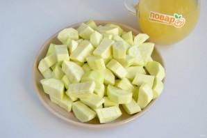 Кабачок, как ананас на зиму - фото шаг 2