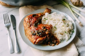 Курица в устричном соусе - фото шаг 4