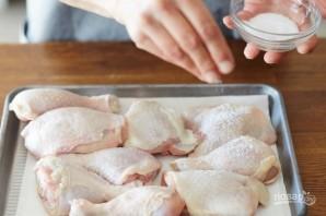 Жареная курица в хрустящей панировке - фото шаг 1