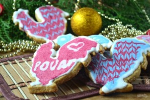 """Новогоднее печенье """"Петушки"""" - фото шаг 9"""