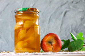 Компот из яблок на зиму без стерилизации - фото шаг 8