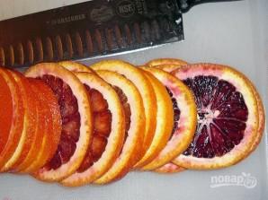 Апельсиновый пирог с полентой - фото шаг 1