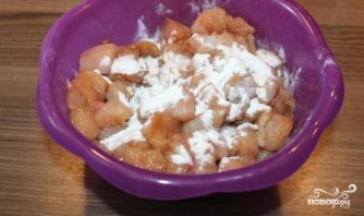Куриное филе в кисло-сладком соусе - фото шаг 2