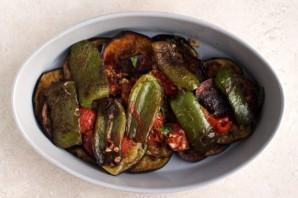 Жареные баклажаны с овощами - фото шаг 8