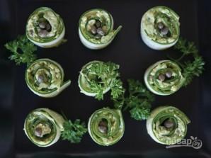 Праздничная закуска из авокадо и огурца - фото шаг 5