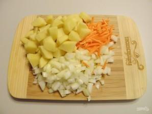 Гороховый суп с копчеными рёбрышками - фото шаг 3