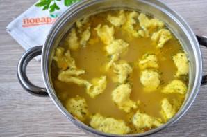 Суп с тестом - фото шаг 10