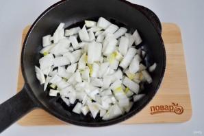 Грибной суп с рисом и яйцом - фото шаг 4