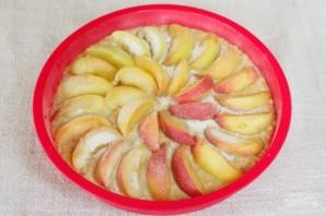 Овсяный пирог с персиками - фото шаг 7