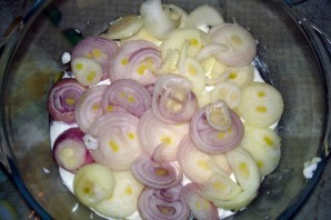 Пангасиус в сметанном соусе - фото шаг 6