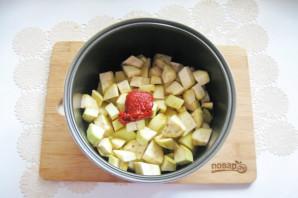Картошка с баклажанами в мультиварке - фото шаг 6