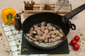 Овощное рагу со свининой - фото шаг 3