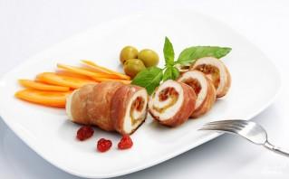 Куриный рулет в пищевой пленке - фото шаг 7