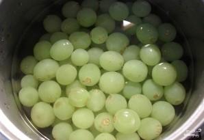 Консервированный виноград - фото шаг 4