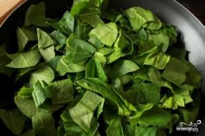 Перцы с зеленой пастой - фото шаг 2