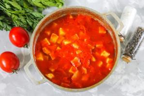 Кабачки в томатном соке - фото шаг 6