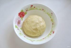 Тертый пирог с вишней - фото шаг 6