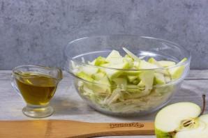 Салат из авокадо и капусты - фото шаг 3