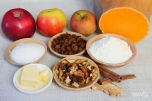 Пряный пудинг из тыквы и яблок - фото шаг 1