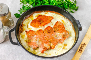 Картошка с мясом в духовке - фото шаг 4
