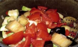 Тушеные овощи в утятнице - фото шаг 6