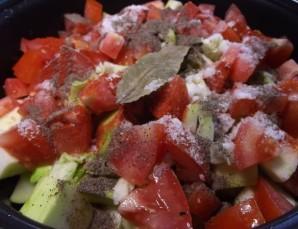 Овощное рагу в духовке - фото шаг 5